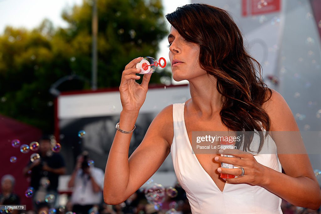 <a gi-track='captionPersonalityLinkClicked' href=/galleries/search?phrase=Valeria+Solarino&family=editorial&specificpeople=830514 ng-click='$event.stopPropagation()'>Valeria Solarino</a> wears a Jaeger-LeCoultre watch at the 'L'Intrepido' Premiere during the 70th Venice Film Festival at the Palazzo del Cinema on September 4, 2013 in Venice, Italy.