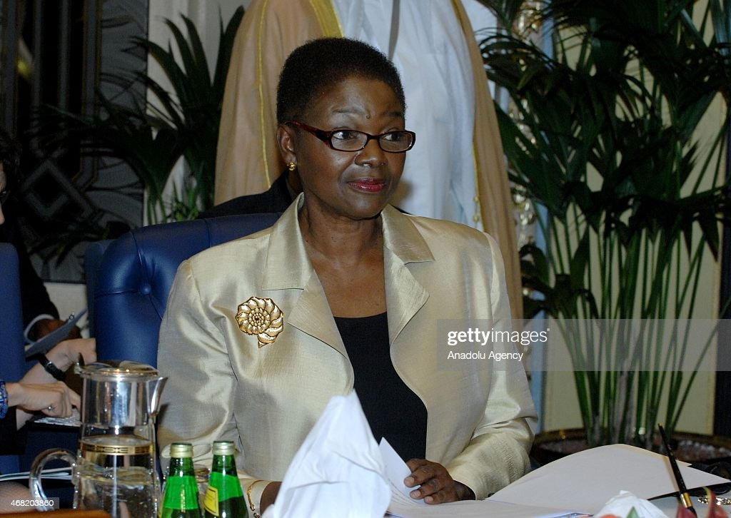 Valerie Amos underSecretaryGeneral for Humanitarian Affairs and Emergency Relief Coordinator attends the 'Third International Pledging Humanitarian...