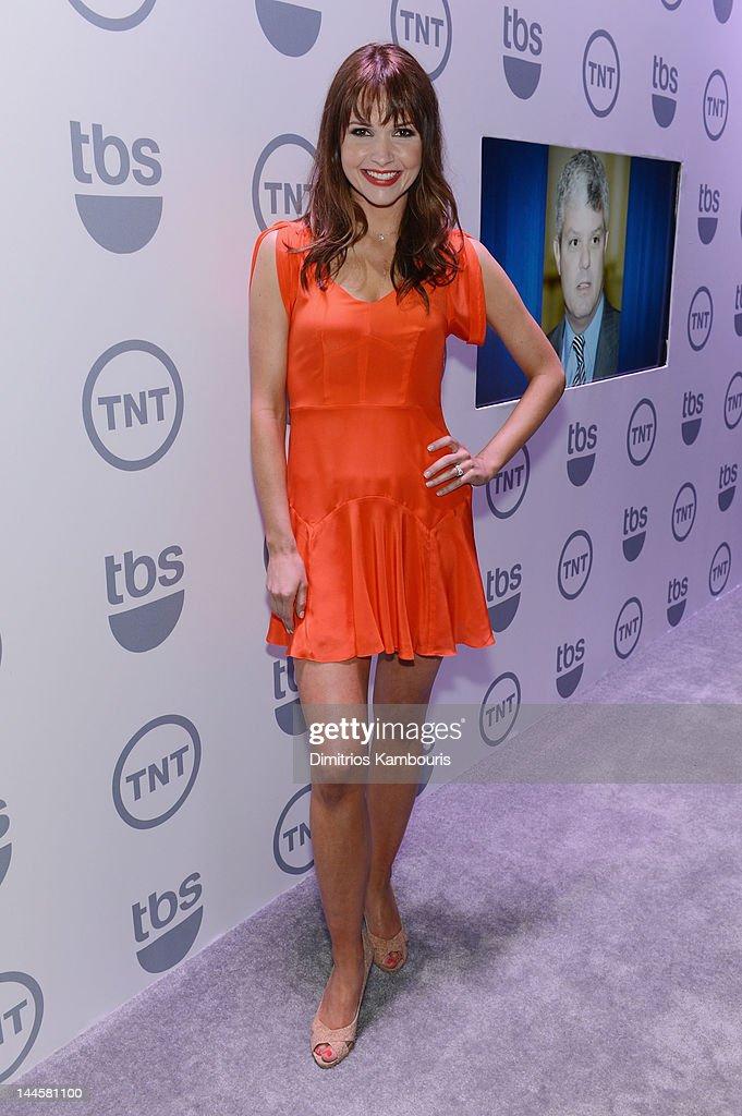 Valerie Azlynn attends the TNT/ TBS Upfront 2012 at Hammerstein Ballroom on May 16, 2012 in New York City. 22362_003_0034.JPG