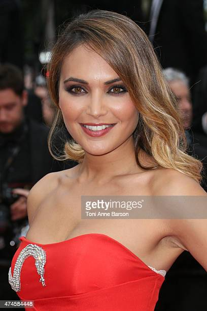 Valerie Begue attends the 'Macbeth' premiere during the 68th annual Cannes Film Festival on May 23 2015 in Cannes France