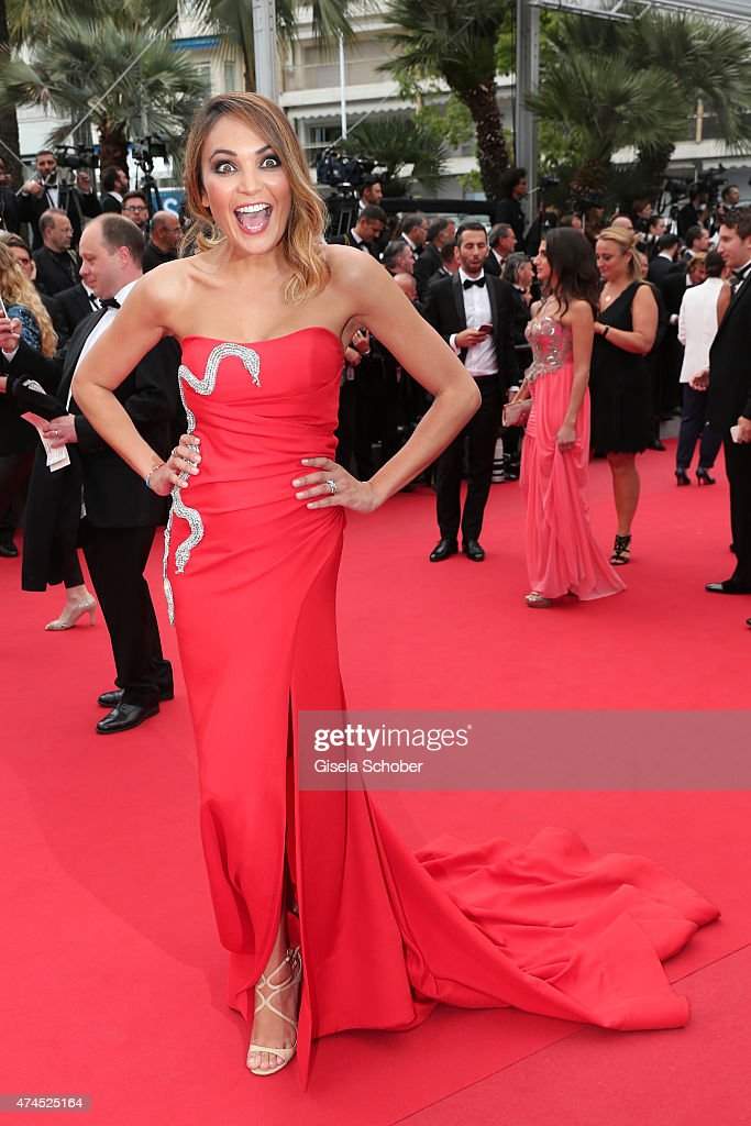 Valerie Begue attends the Premiere of 'Macbeth' during the 68th annual Cannes Film Festival on May 23 2015 in Cannes France