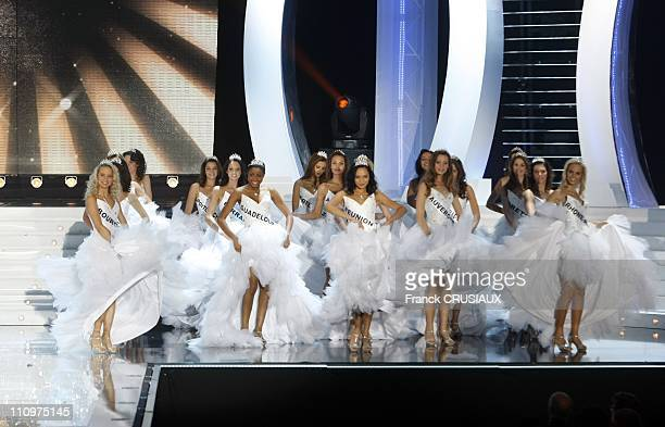 Valerie Begue Miss Reunion was elected Miss France 2008 in Dunkirk France on December 08th 2007