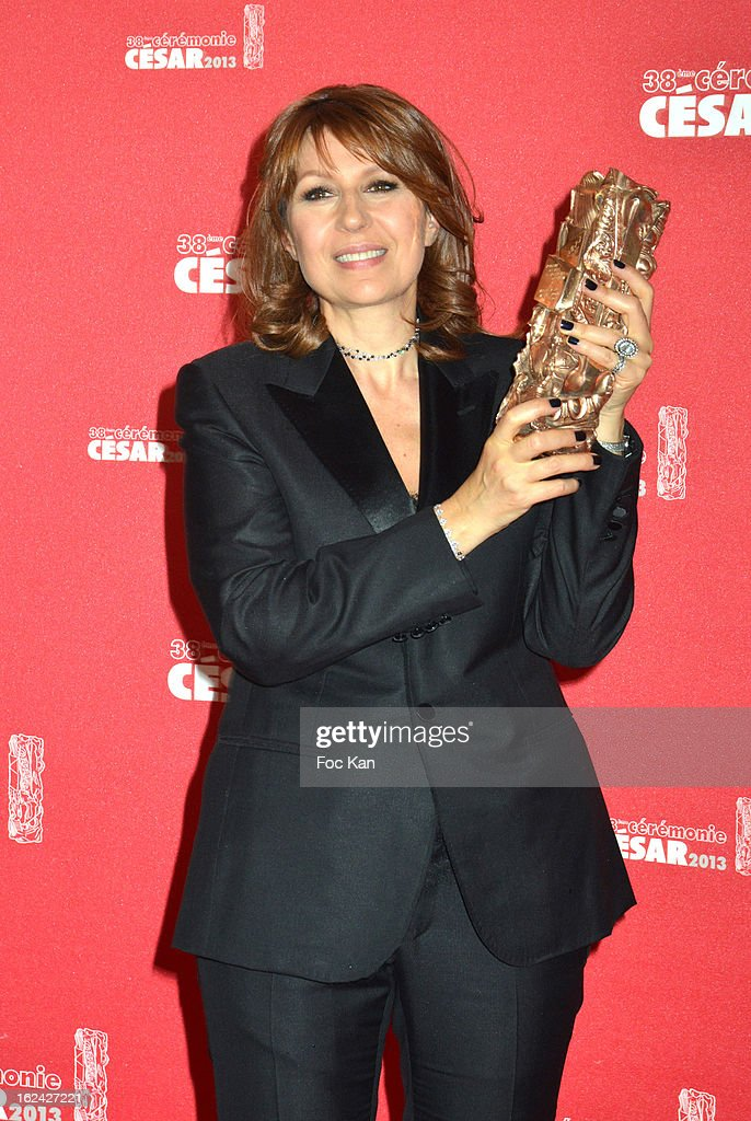 <a gi-track='captionPersonalityLinkClicked' href=/galleries/search?phrase=Valerie+Benguigui&family=editorial&specificpeople=4480204 ng-click='$event.stopPropagation()'>Valerie Benguigui</a> attends the Awards Room - Cesar Film Awards 2013 at the Theatre du Chatelet on February 22, 2013 in Paris, France.