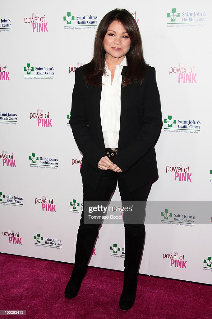 Valerie Bertinelli attends the St. John's Health Center's Power Of Pink benefiting the Margie Petersen breast center held at the Sony Studios on November 12, 2012 in Los Angeles, California.