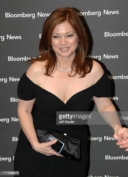 Valerie Bertinelli during 2007 White House Correspondents Dinner Bloomberg News Cocktail Party at Embassy of Costa Rica in Washington DC United States