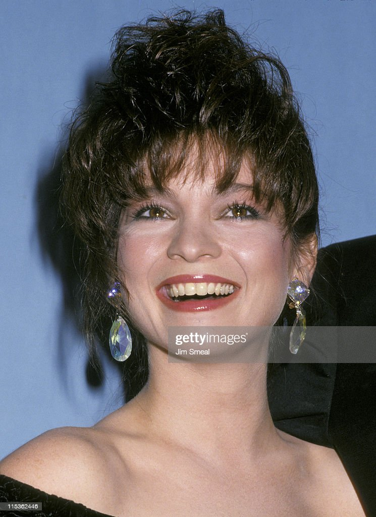 <a gi-track='captionPersonalityLinkClicked' href=/galleries/search?phrase=Valerie+Bertinelli&family=editorial&specificpeople=790177 ng-click='$event.stopPropagation()'>Valerie Bertinelli</a> during 39th Annual Emmy Awards - September 20, 1987 at Pasadena Civic Auditorium in Pasadena, California, United States.