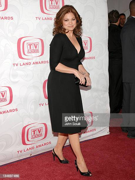 Valerie Bertinelli during 5th Annual TV Land Awards Arrivals at Barker Hanger in Santa Monica CA United States