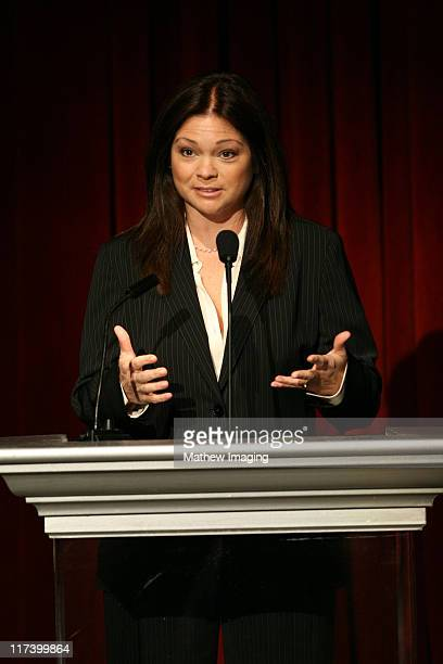 Valerie Bertinelli during Academy of Television Arts Sciences 60th Anniversary Inside and Reception at Leonard H Goldenson Theatre in North Hollywood...