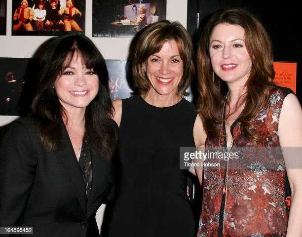 Valerie Bertinelli Wendie Malick and Jane Leeves attend the Celebration Theatre's '30 Years Of Celebration' benefit evening at The Colony Theater on...