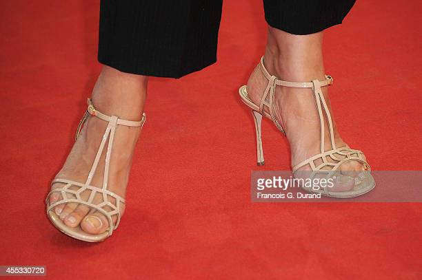 Valerie Bonneton attends the 'Get On Up' premiere during the 40th Deauville American Film Festival on September 12 2014 in Deauville France