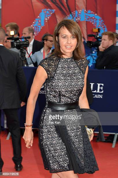 Valerie Bonneton attends the 'Sin City A Dame To Kill For' Premiere 40th Deauville American Film Festival on September 13 2014 in Deauville France