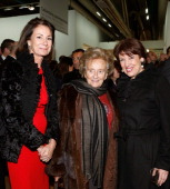 Valerie Breton Bernadette Chirac and Roselyne Bachelot Narquin attend the 8th Annual Dinner of the 'Societe Des Amis Du Musee D'Art Moderne' at...