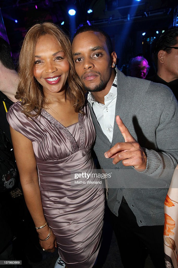 Valerie Campbell and Pierre Blackwood attend the 'Lambertz Monday Night' at Chocolate-Fair on January 30, 2012 in Cologne, Germany.