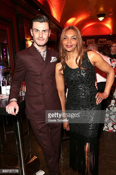 Valerie Campbell Morris mother of Naomi Campbell and PaulHenry Duval during the Lambertz Monday Night 2017 at Alter Wartesaal on January 30 2017 in...