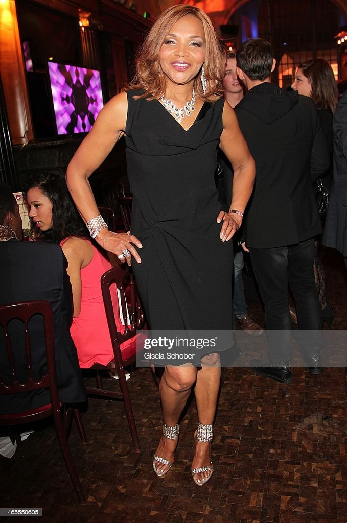 Valerie Campbell - mother of Naomi attends the Lambertz Monday Night at Alter Wartesaal on January 27, 2014 in Cologne, Germany.