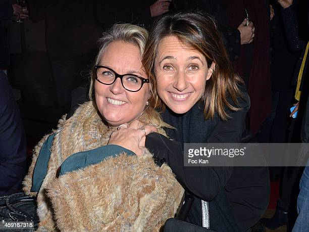 Valerie Damidot and Alexia Laroche Joubert attend Saperlipopette' Norbert Cremaillere Party on November 17 2014 in Puteaux France
