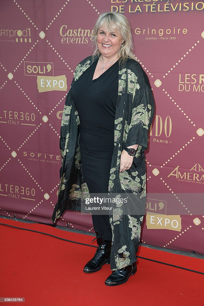 <a gi-track='captionPersonalityLinkClicked' href=/galleries/search?phrase=Valerie+Damidot&family=editorial&specificpeople=5646122 ng-click='$event.stopPropagation()'>Valerie Damidot</a> attends the 'Gold Prix De La TNT' Award Ceremony at Theatre Bobino on June 6, 2016 in Paris, France.