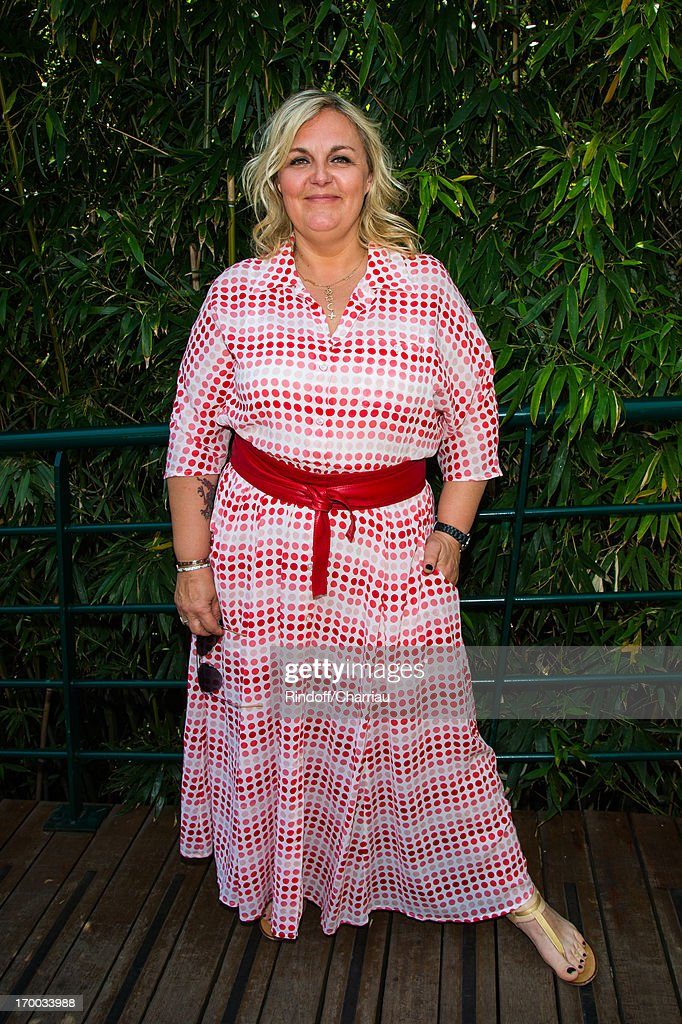 <a gi-track='captionPersonalityLinkClicked' href=/galleries/search?phrase=Valerie+Damidot&family=editorial&specificpeople=5646122 ng-click='$event.stopPropagation()'>Valerie Damidot</a> sighting at Roland Garros Tennis French Open 2013 - Day 12 on June 6, 2013 in Paris, France.