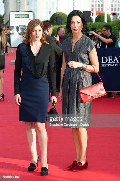Valerie Donzelli and Geraldine Maillet attend the Opening Ceremony of the 39th Deauville American Film Festival in Deauville