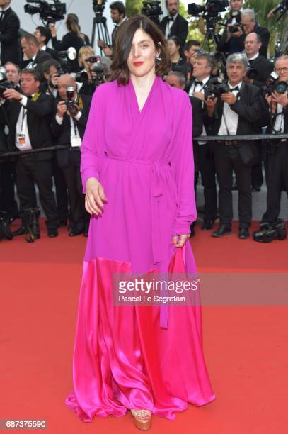 Valerie Donzelli attends the 70th Anniversary of the 70th annual Cannes Film Festival at Palais des Festivals on May 23 2017 in Cannes France