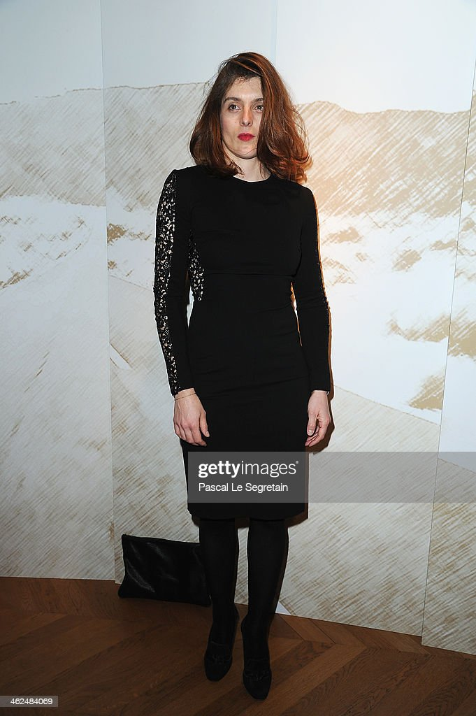 Valerie Donzelli attends the 'Cesar Revelations 2014' Cocktail Party and Dinner at Salons Chaumet on January 13 2014 in Paris France