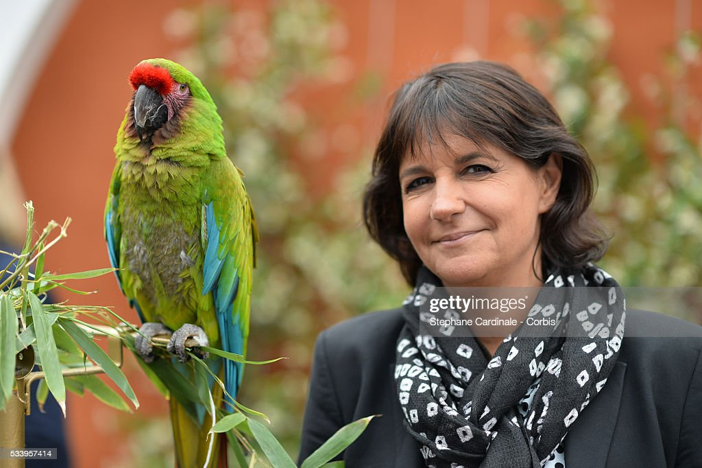 Valerie Expert attend the 2016 French tennis Open day 3, at Roland Garros on May 24, 2016 in Paris, France.