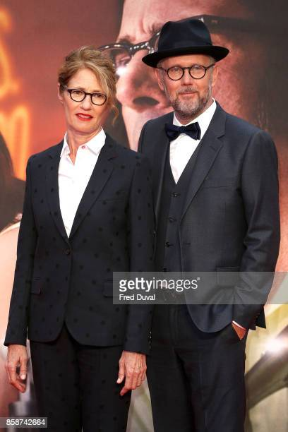 Valerie Faris and Jonathan Dayton attend the 'Battle Of The Sexes' European Premiere during the 61st BFI London Film Festival at Odeon Leicester...