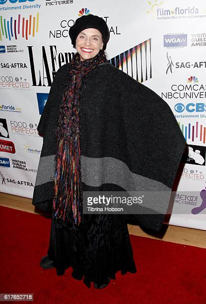 Valerie Harper attends the 12th annual La Femme International Film Festival closing ceremony at The Los Angeles Theatre Center on October 23 2016 in...