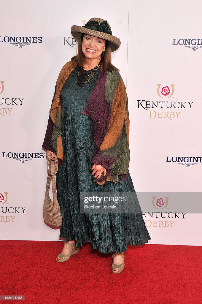 <a gi-track='captionPersonalityLinkClicked' href=/galleries/search?phrase=Valerie+Harper&family=editorial&specificpeople=206853 ng-click='$event.stopPropagation()'>Valerie Harper</a> attends the 139th Kentucky Derby at Churchill Downs on May 4, 2013 in Louisville, Kentucky.