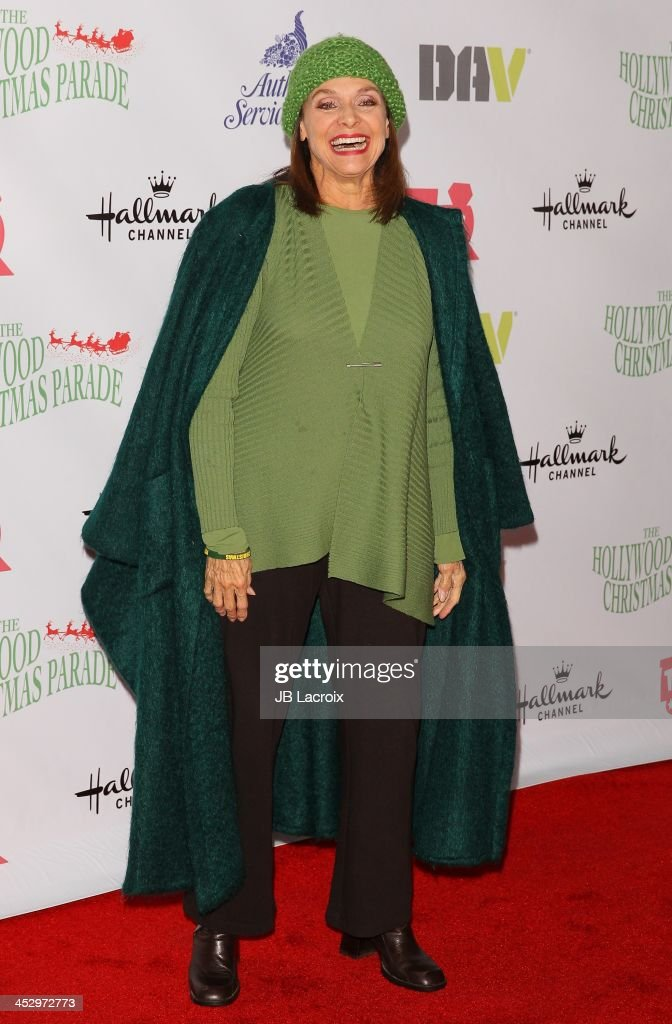 <a gi-track='captionPersonalityLinkClicked' href=/galleries/search?phrase=Valerie+Harper&family=editorial&specificpeople=206853 ng-click='$event.stopPropagation()'>Valerie Harper</a> attends the Hollywood Christmas Parade benefiting Toys For Tots foundation on December 1, 2013 in Hollywood, California.