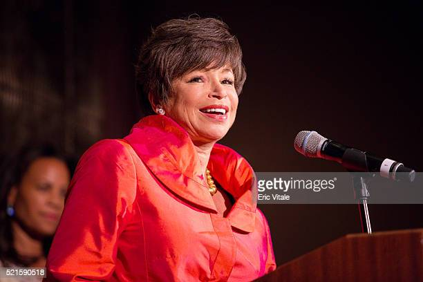 Valerie Jarret Senior Advisor to the President of the United States of America speaks the 2016 NAN 'Keepers Of The Dream' Dinner and Awards Ceremony...