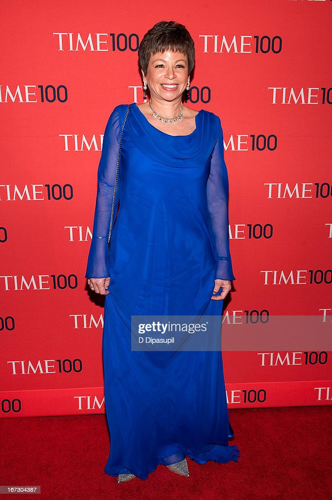 Valerie Jarrett attends the 2013 Time 100 Gala at Frederick P. Rose Hall, Jazz at Lincoln Center on April 23, 2013 in New York City.