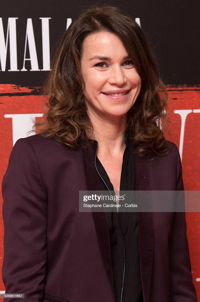 Valerie Kaprisky attends the 'Malavita' premiere at Europacorp Cinemas at Aeroville Shopping Center, in Roissy-en-France, France.