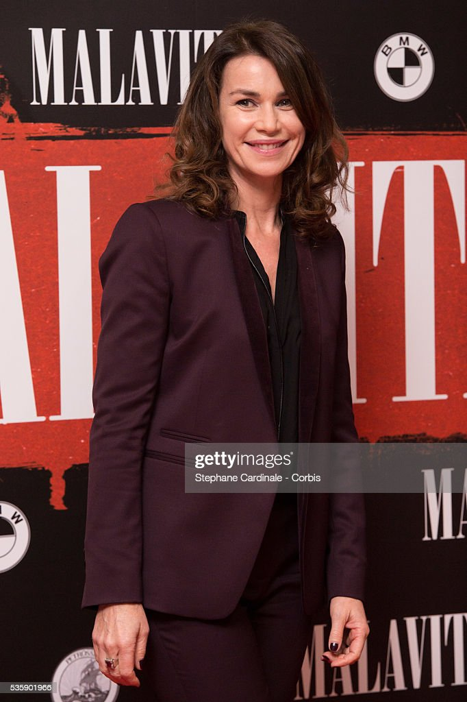 Valerie Kaprisky attends the 'Malavita' premiere at Europacorp Cinemas at Aeroville Shopping Center, in Roissy-en-France, France.