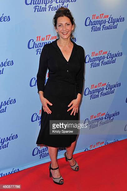 Valerie Karsenti attends A Toute Epreuve Paris Premiere during Day 3 of the Champs Elysees Film Festival on June 13 2014 in Paris France