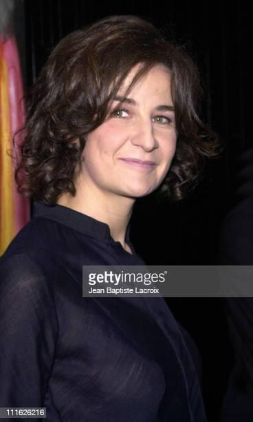 Valerie Lemercier during SACEM Music Awards Ceremony 'Grands Prix 2002' Paris at SACEM in Paris France
