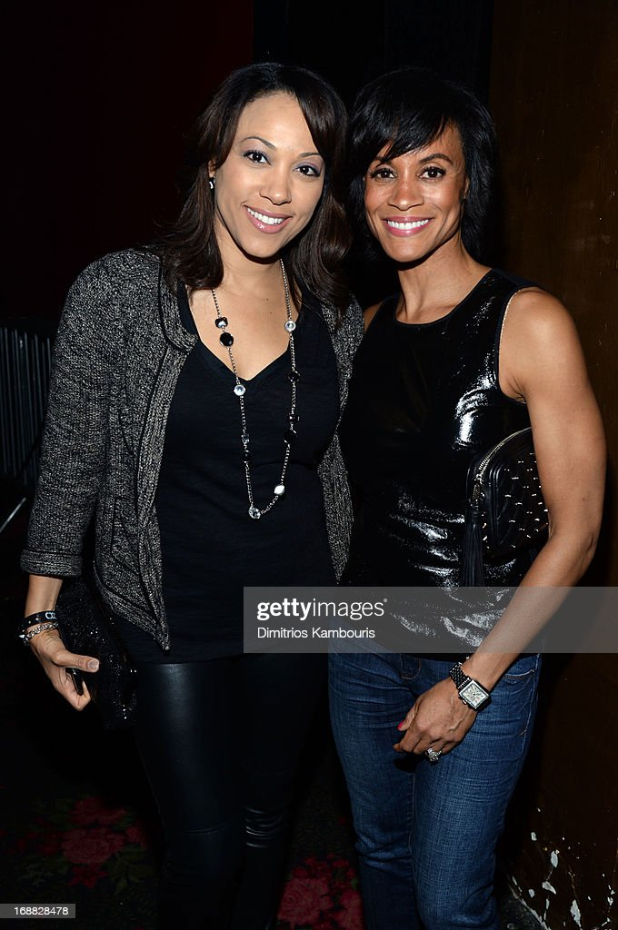Valerie Merav and Cartoon Network Chief Marketing Officer Brenda Piper attend the Adult Swim Upfront Party 2013 at Roseland Ballroom on May 15, 2013 in New York City. 23698_001_0208.JPG