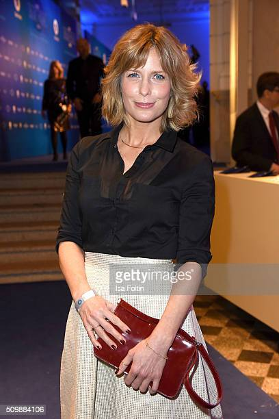 Valerie Niehaus attends the ARD Hosts Blue Hour Reception on February 12 2016 in Berlin Germany
