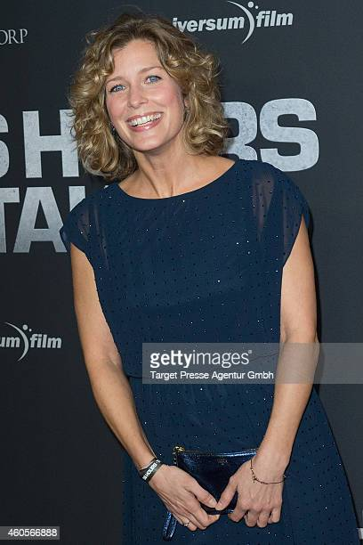 Valerie Niehaus attends the premiere of the film '96 Hours Taken 3' at Zoo Palast on December 16 2014 in Berlin Germany