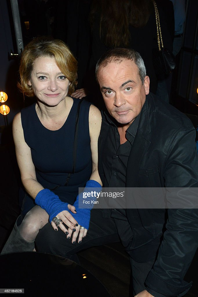 Valerie Payet and her husband attend The Burgundy Hotel Compilation CD Launch Party on November 26, 2013 in Paris, France.