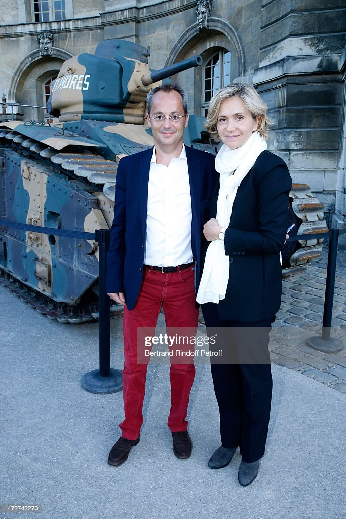 Valerie Pecresse and her husband Jerome Pecresse attend the 'Ami entends tu ?' Show performed at The Invalides on May 8, 2015 in Paris, France.