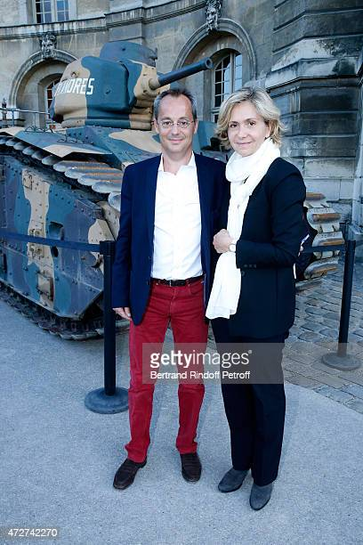 Valerie Pecresse and her husband Jerome Pecresse attend the 'Ami entends tu ' Show performed at The Invalides on May 8 2015 in Paris France