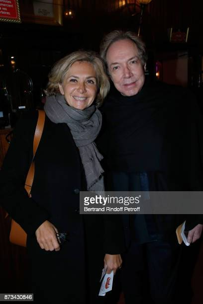 Valerie Pecresse and JeanPaul Scarpitta attend 'Depardieu Chante Barbara' at 'Le Cirque D'Hiver' on November 11 2017 in Paris France