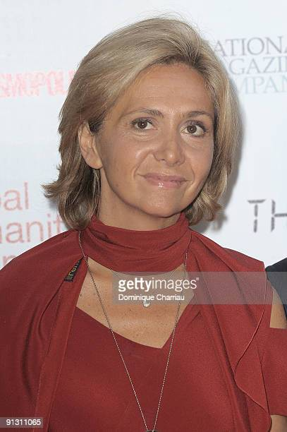 Valerie Pecresse attends 'Beds Are Burning' song launch by Kofi Annan and Havas Worldwide at Universite Paris Descartes on October 1 2009 in Paris...