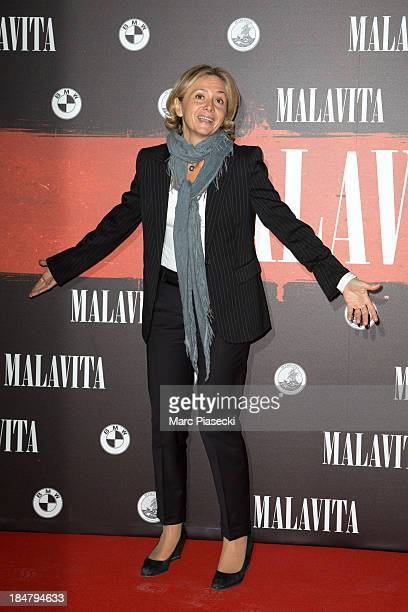 Valerie Pecresse attends the 'Malavita' premiere on October 16 2013 in RoissyenFrance France