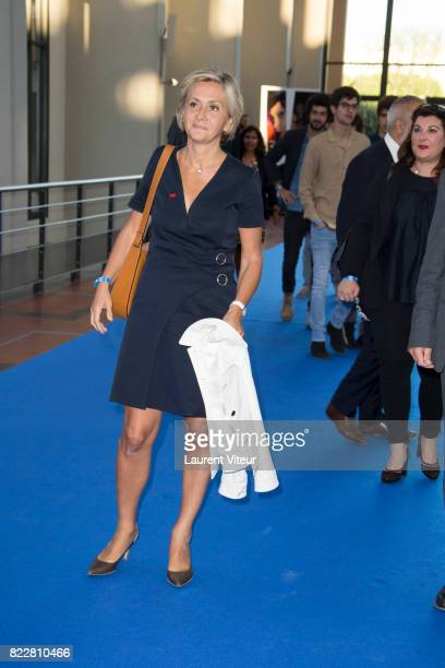 Valerie Pecresse attends 'Valerian et la Cite desMille Planetes' Paris Premiere at La Cite Du Cinema on July 25 2017 in SaintDenis France