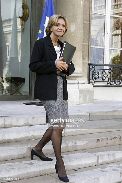 Valerie Pecresse French Higher Education and Research Minister in Paris France on September 15th 2010