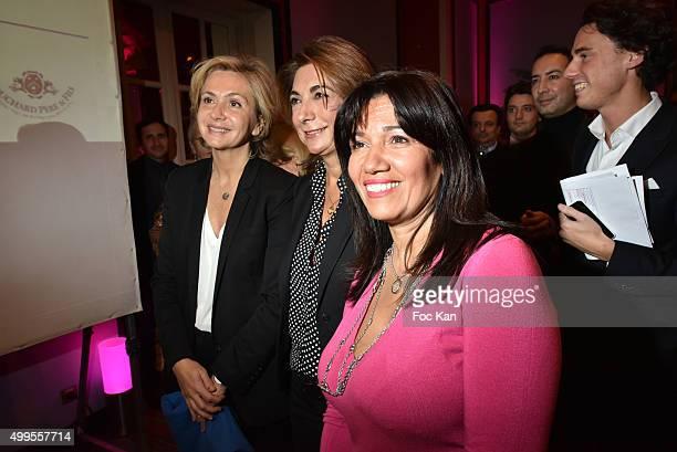 Valerie Pecresse Martine Vassal and Samia Ghali attend the 'Prix de la Femme d'Influence 2015' Award Ceremony on December 1 2015 in Paris France