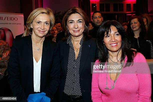 Valerie Pecresse Samia Ghali and Martine Vassal attend the 'Prix de la Femme d'Influence 2015' Award Ceremony on December 1 2015 in Paris France