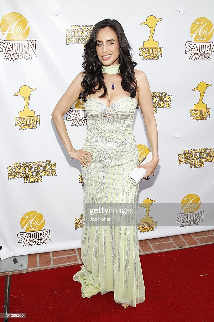 Valerie Perez attends the 40th Annual Saturn Awards at The Castaway on June 26, 2014 in Burbank, California.